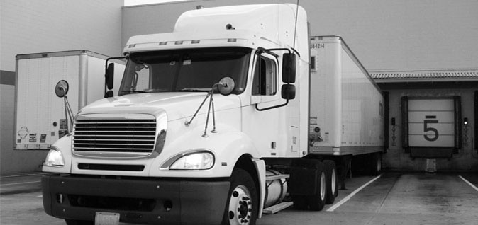 Entrepôt de camion